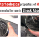Magnetorheological properties of MR fluids recommended for use in Shock Absorbers
