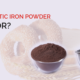 What is Electrolytic iron powder used for