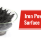 Iron Powder for Surface Coating