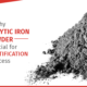 Iron powder manufacturers in India