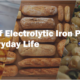 role of electrolytic iron powders