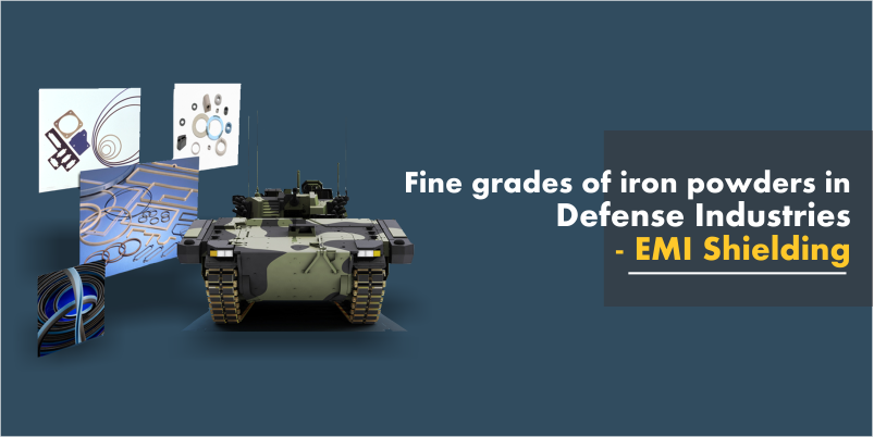 grades of iron powders in defense